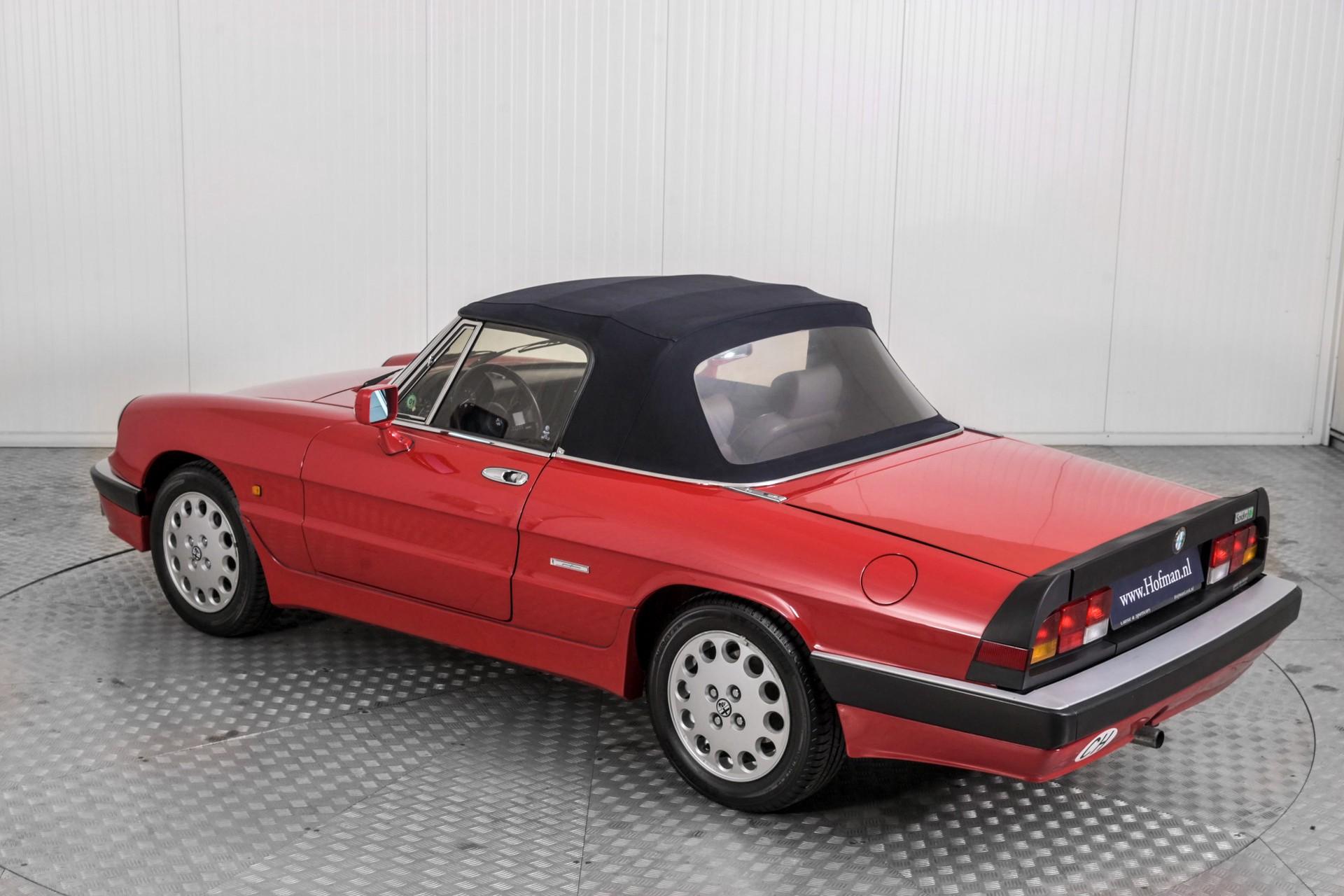 Alfa Romeo Spider 2.0 QV quadrifoglio verde slechts 75.000 KM! Foto 56