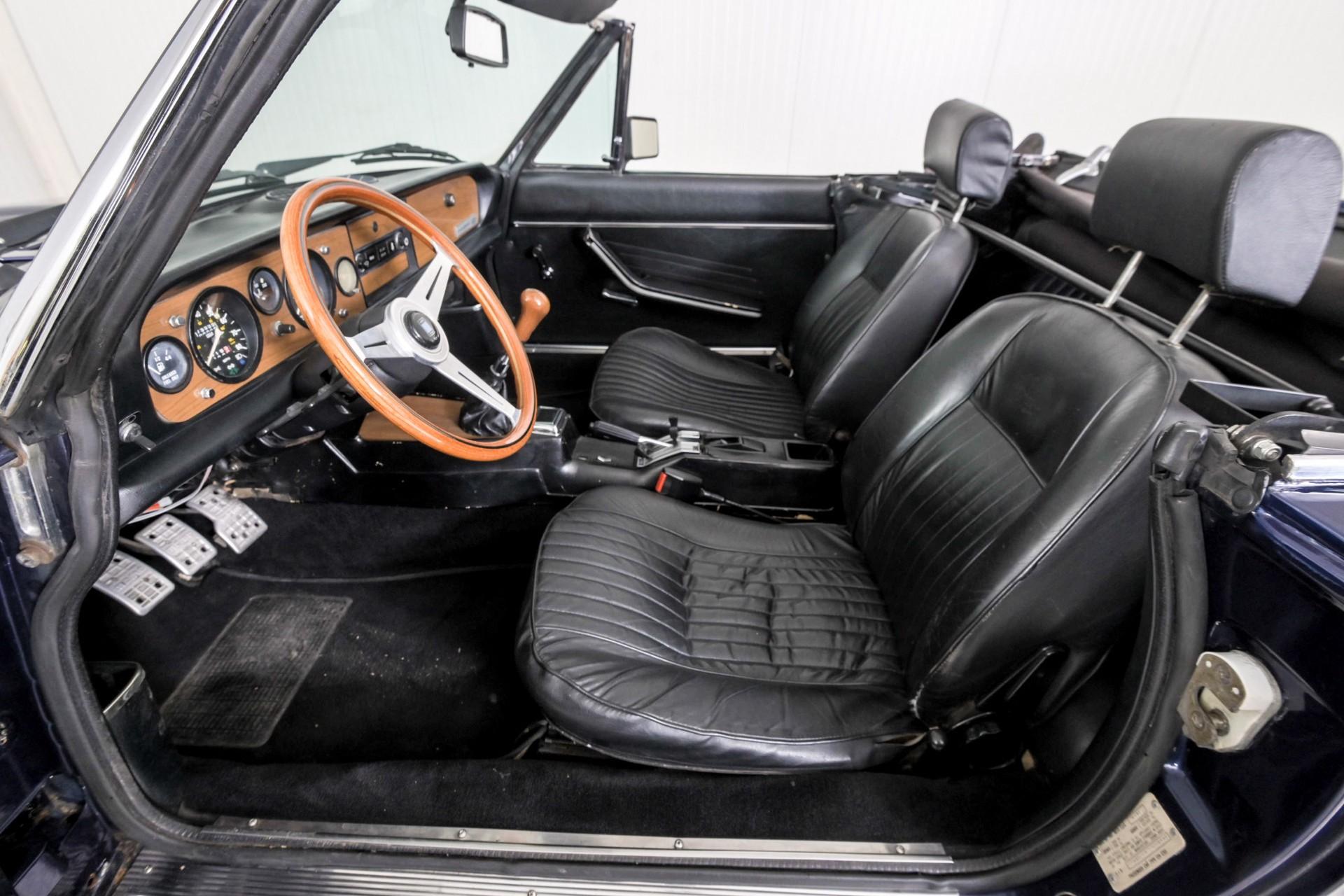 Fiat 124 Spider 2000 Foto 28