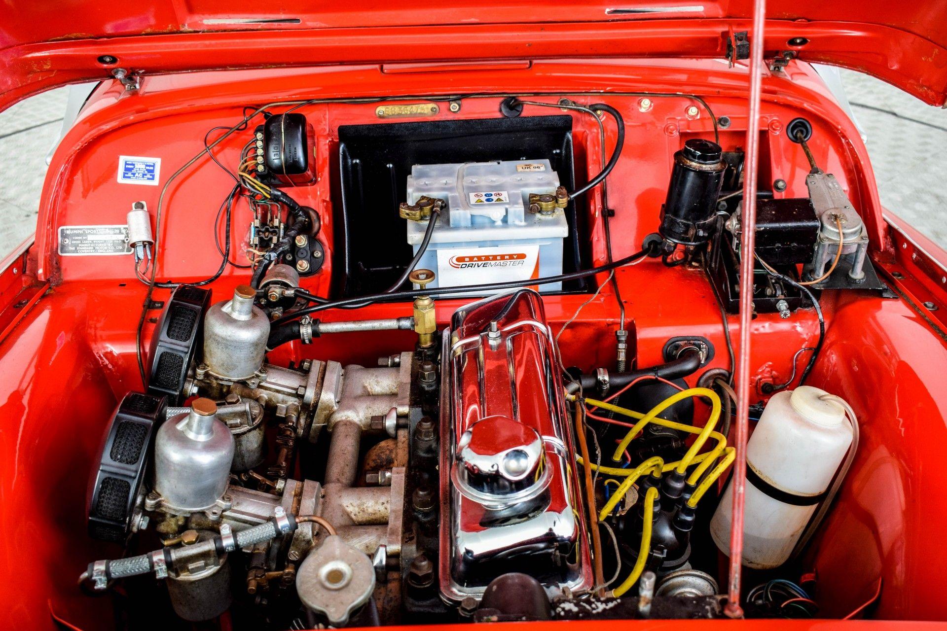 Triumph TR3 TR3A  Foto 11