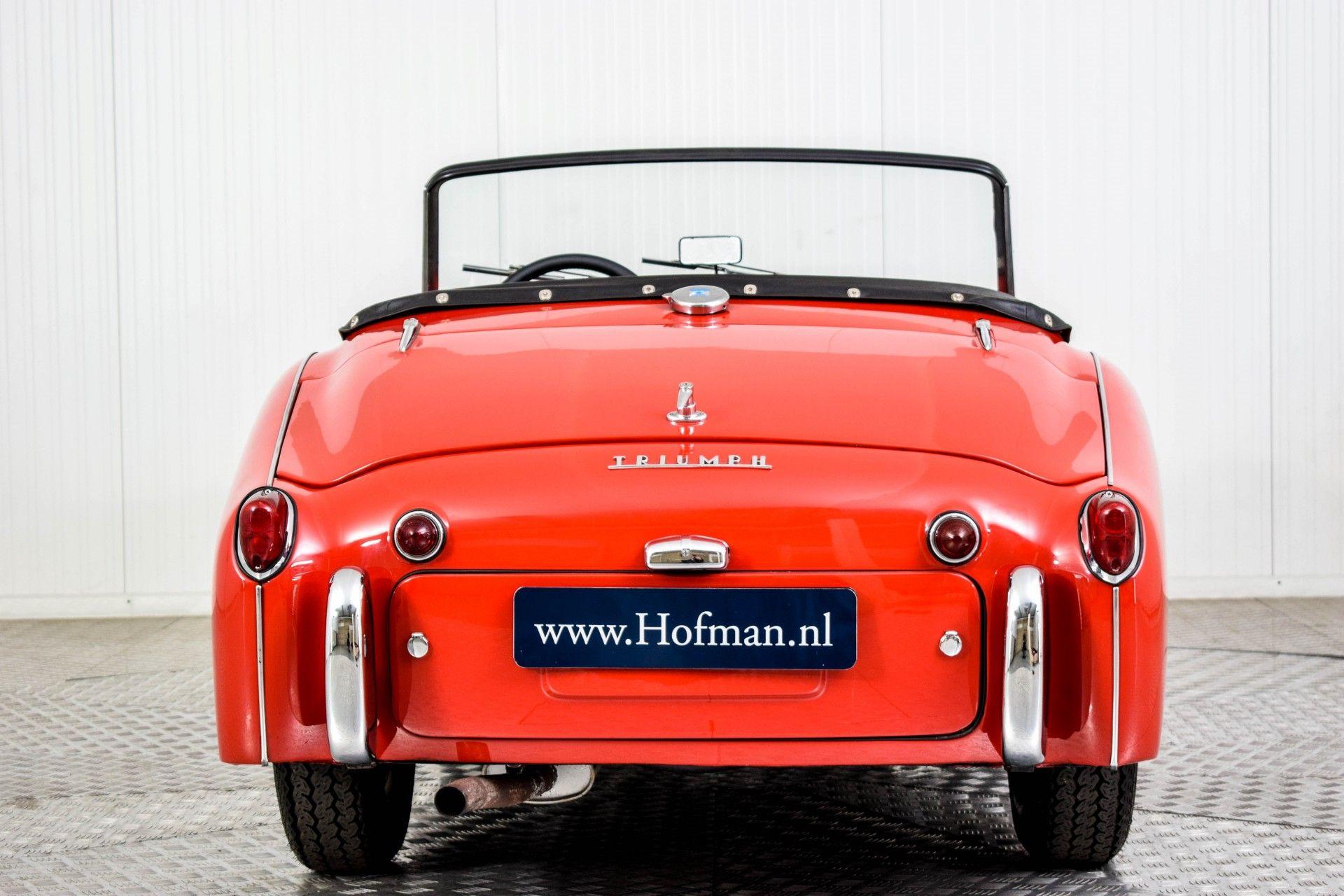 Triumph TR3 TR3A  Foto 4