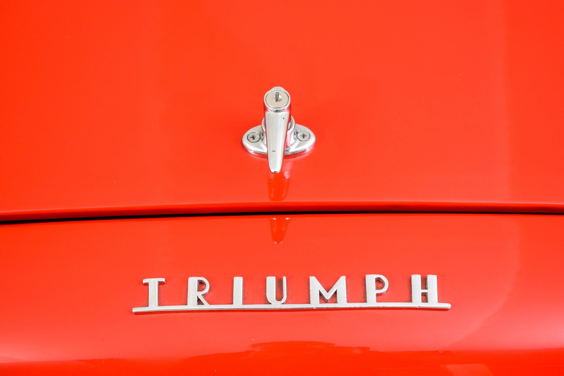 Triumph TR3 TR3A  Foto 43