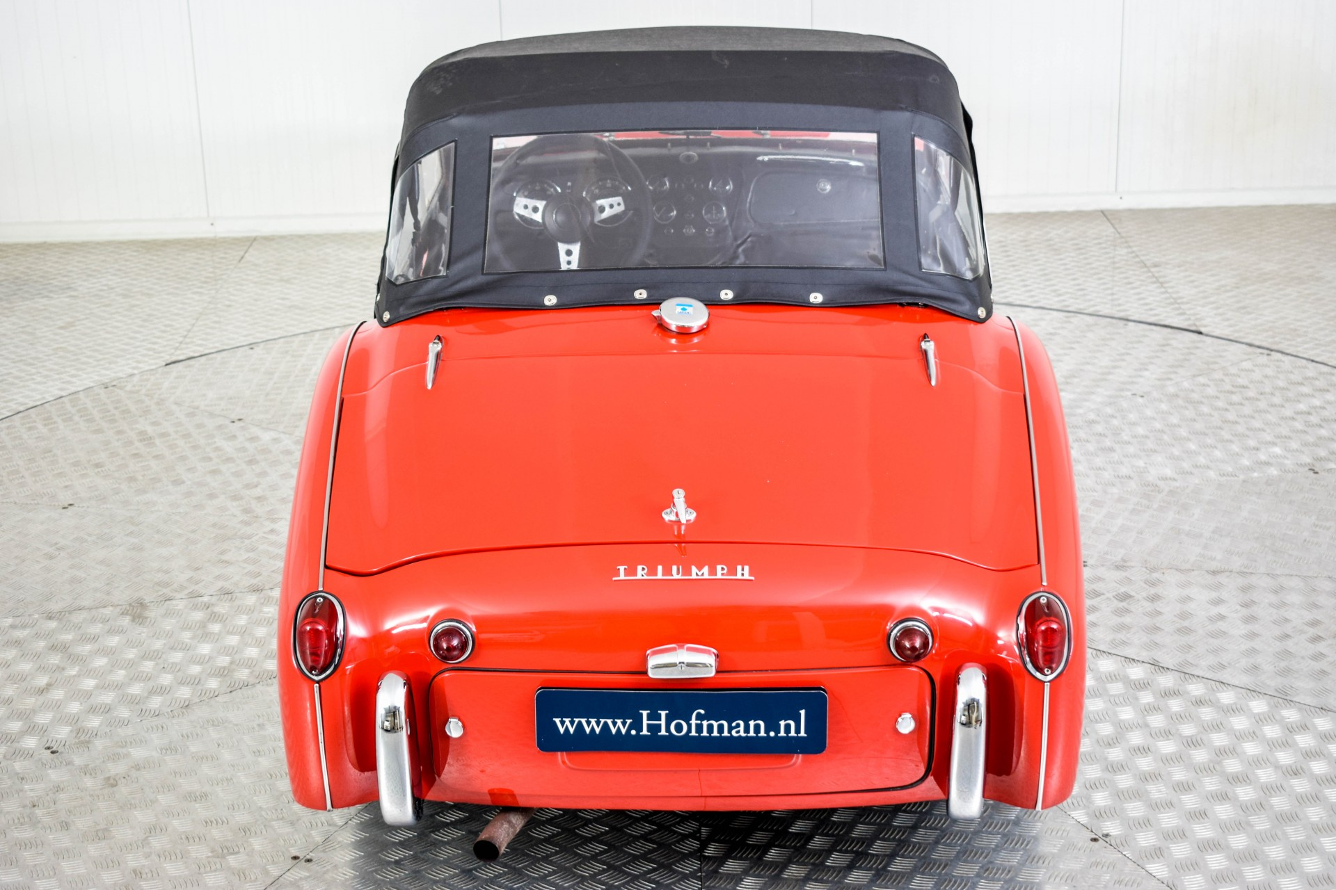 Triumph TR3 TR3A  Foto 46