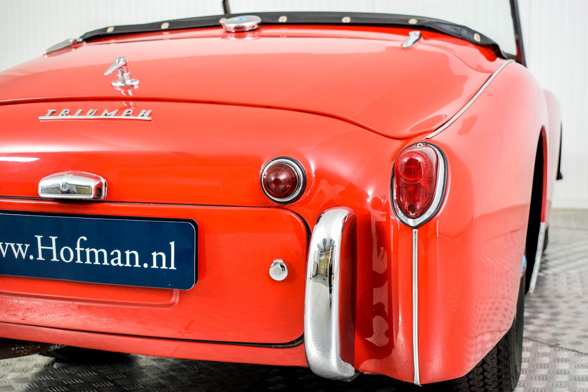 Triumph TR3 TR3A  Foto 47