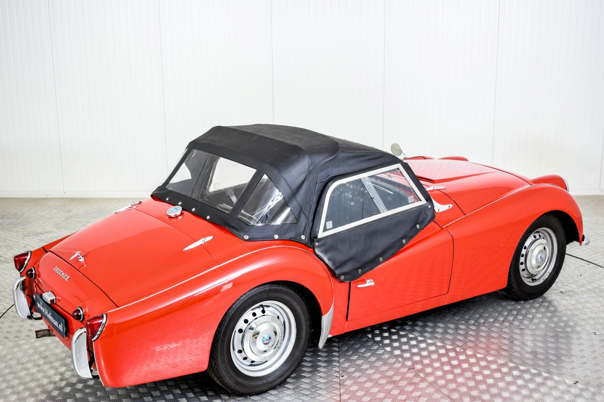 Triumph TR3 TR3A  Foto 62