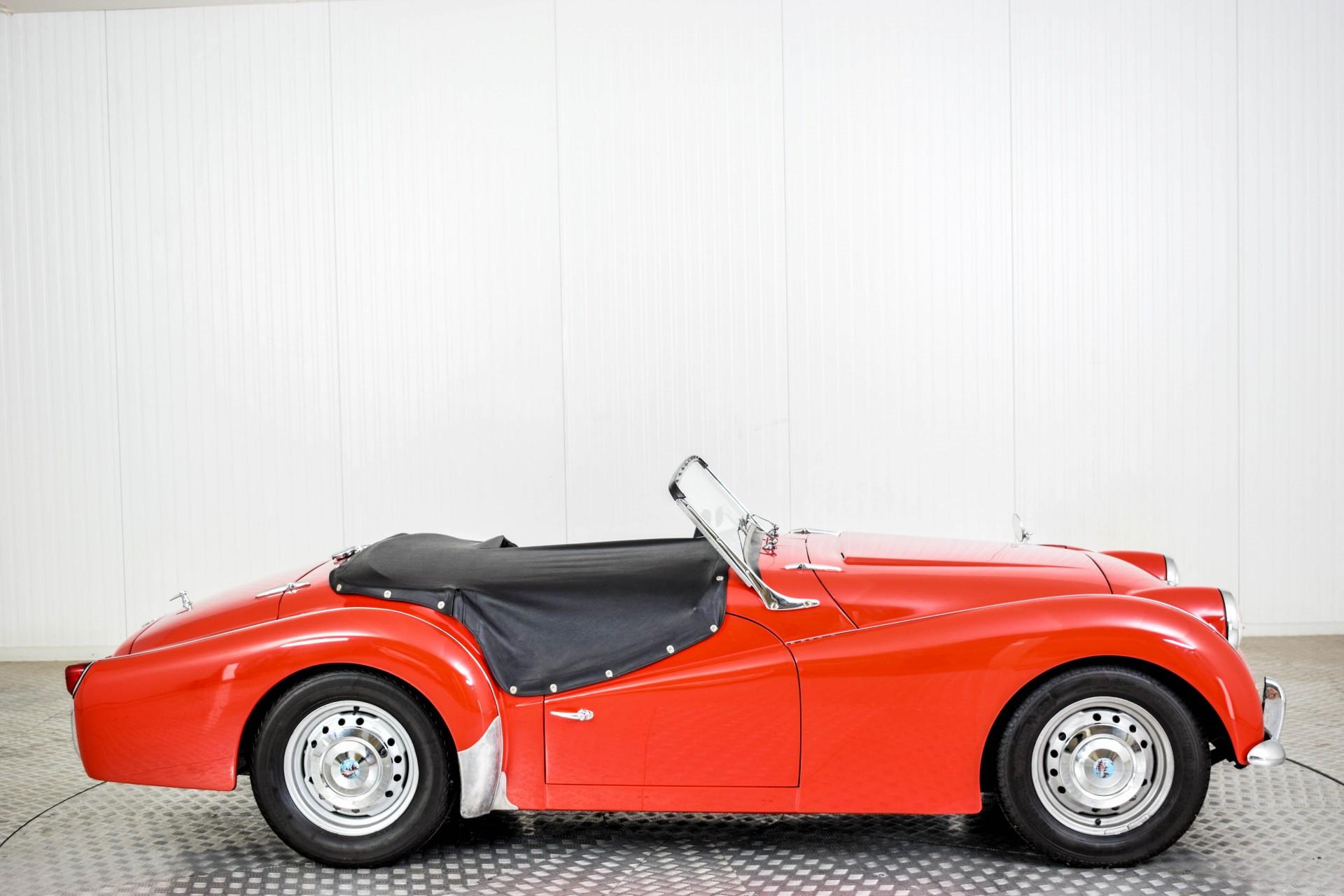 Triumph TR3 TR3A  Foto 64