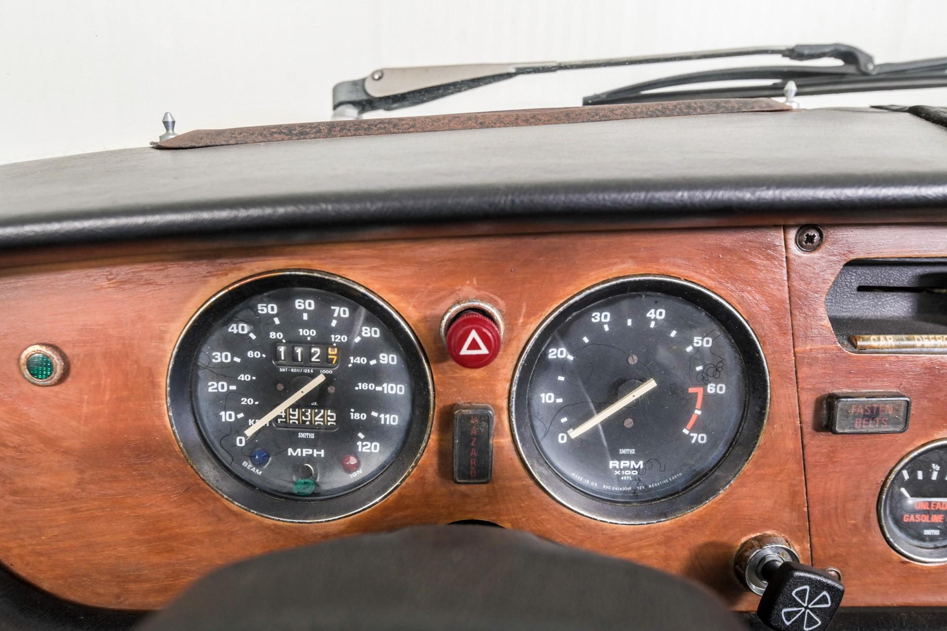 Triumph Spitfire 1500 TC overdrive Foto 17