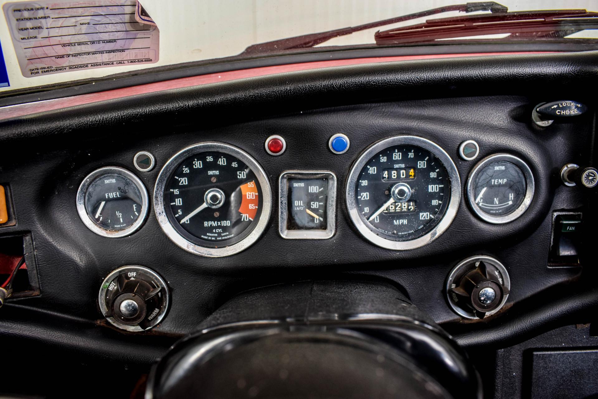 MG B MGB Roadster Foto 28