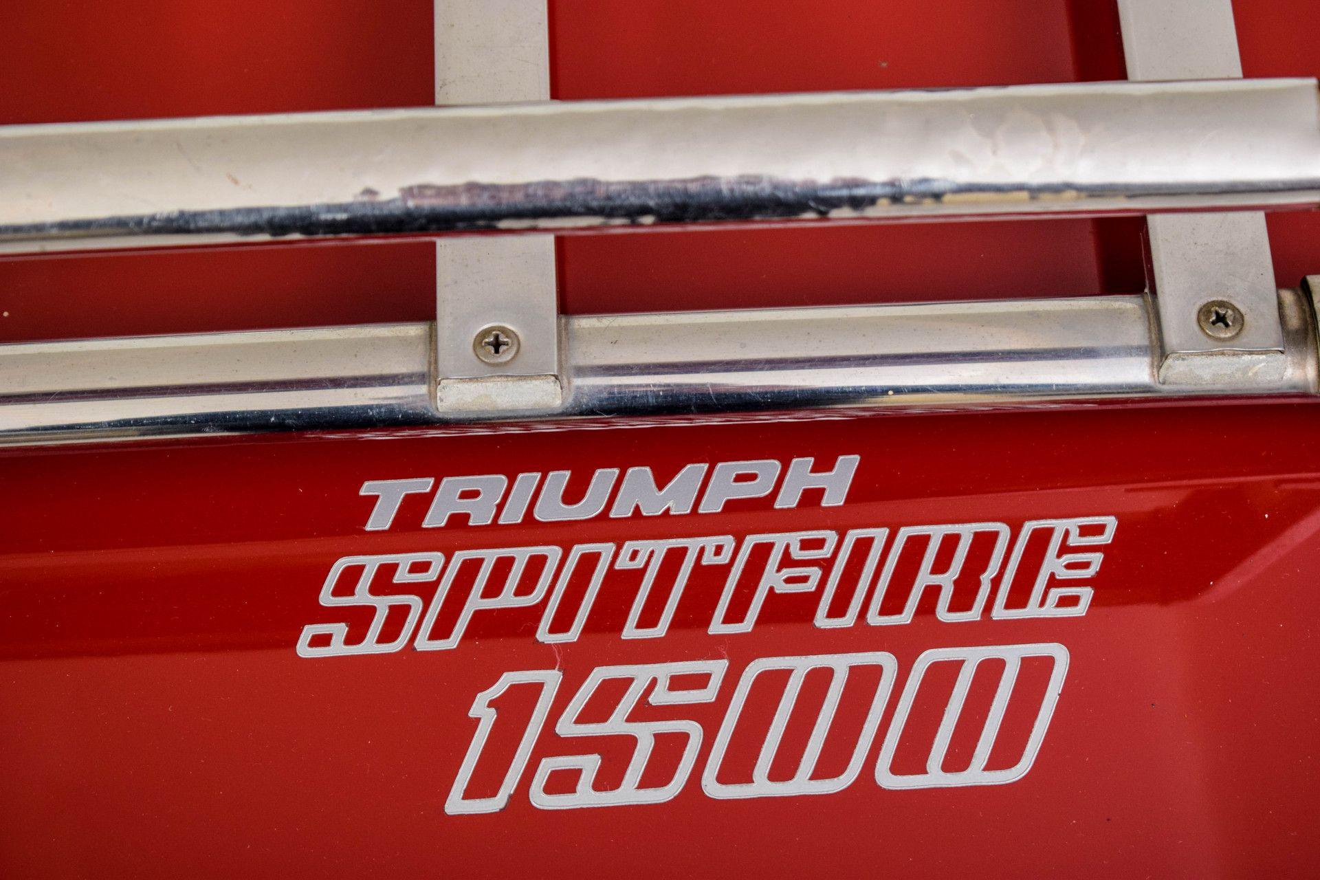 Triumph Spitfire 1500Overdrive Foto 41