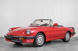 Alfa Romeo Spider 2.0 QV quadrifoglio verde slechts 75.000 KM! thumbnail 1