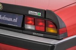 Alfa Romeo Spider 2.0 QV quadrifoglio verde slechts 75.000 KM! thumbnail 27