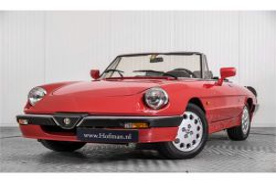 Alfa Romeo Spider 2.0 QV quadrifoglio verde slechts 75.000 KM! thumbnail 3