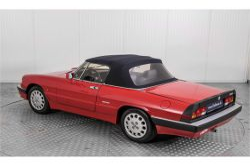 Alfa Romeo Spider 2.0 QV quadrifoglio verde slechts 75.000 KM! thumbnail 56