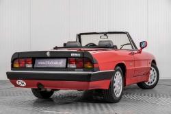 Alfa Romeo Spider 2.0 QV quadrifoglio verde slechts 75.000 KM! thumbnail 7