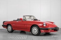 Alfa Romeo Spider 2.0 QV quadrifoglio verde slechts 75.000 KM! thumbnail 8