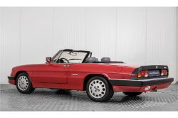 Alfa Romeo Spider 2.0 QV quadrifoglio verde slechts 75.000 KM! thumbnail 9