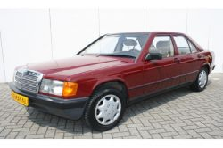 Mercedes-Benz 190 2.0 D maar 136000 km! thumbnail 1