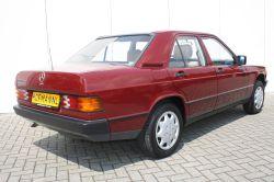 Mercedes-Benz 190 2.0 D maar 136000 km! thumbnail 2